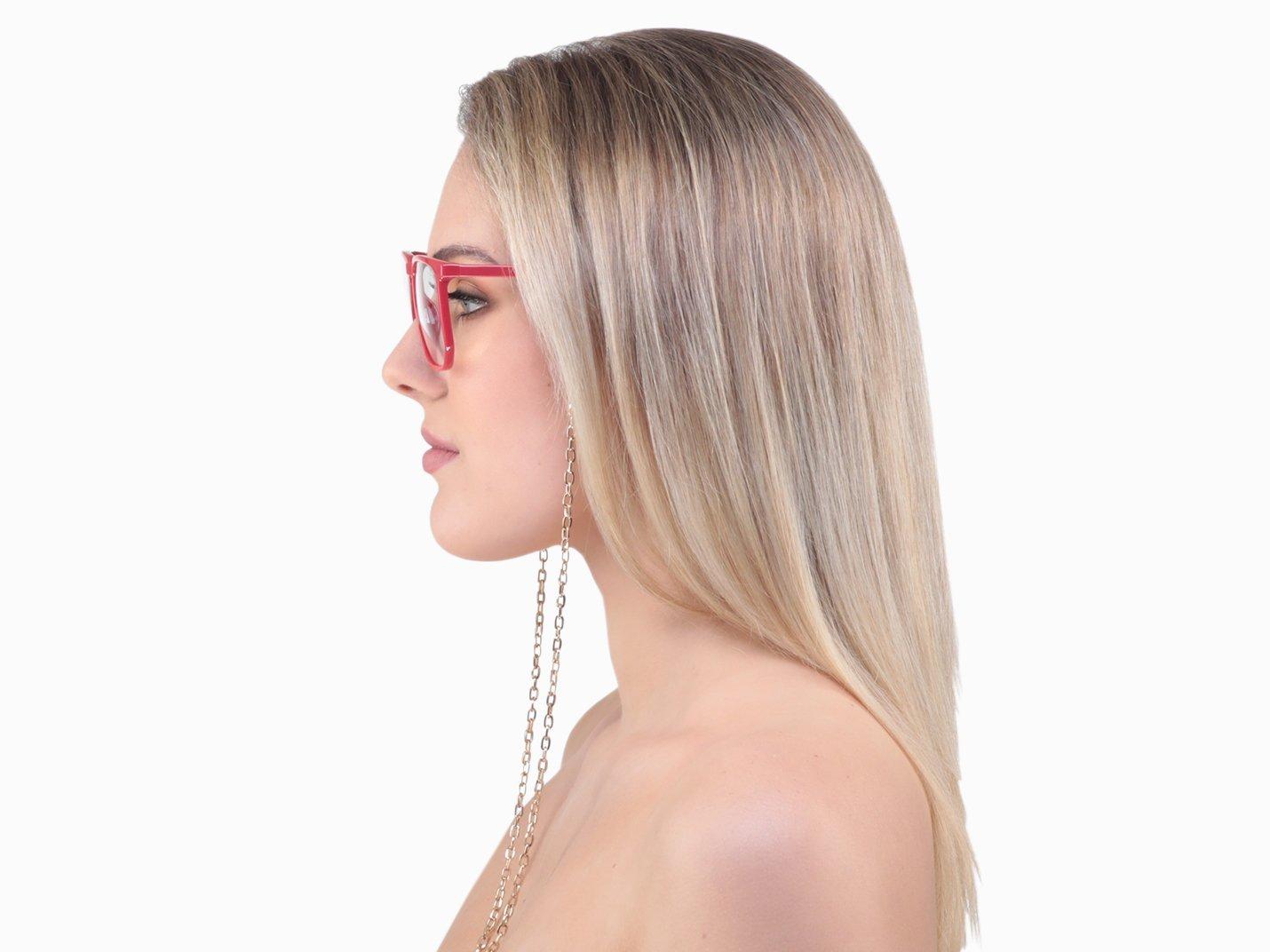 Gold Glasses Chain - Divinyl